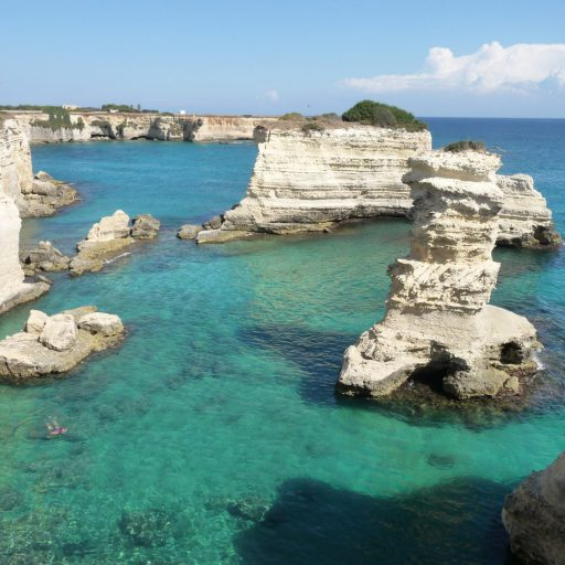 costa di torre dell'orso in salento