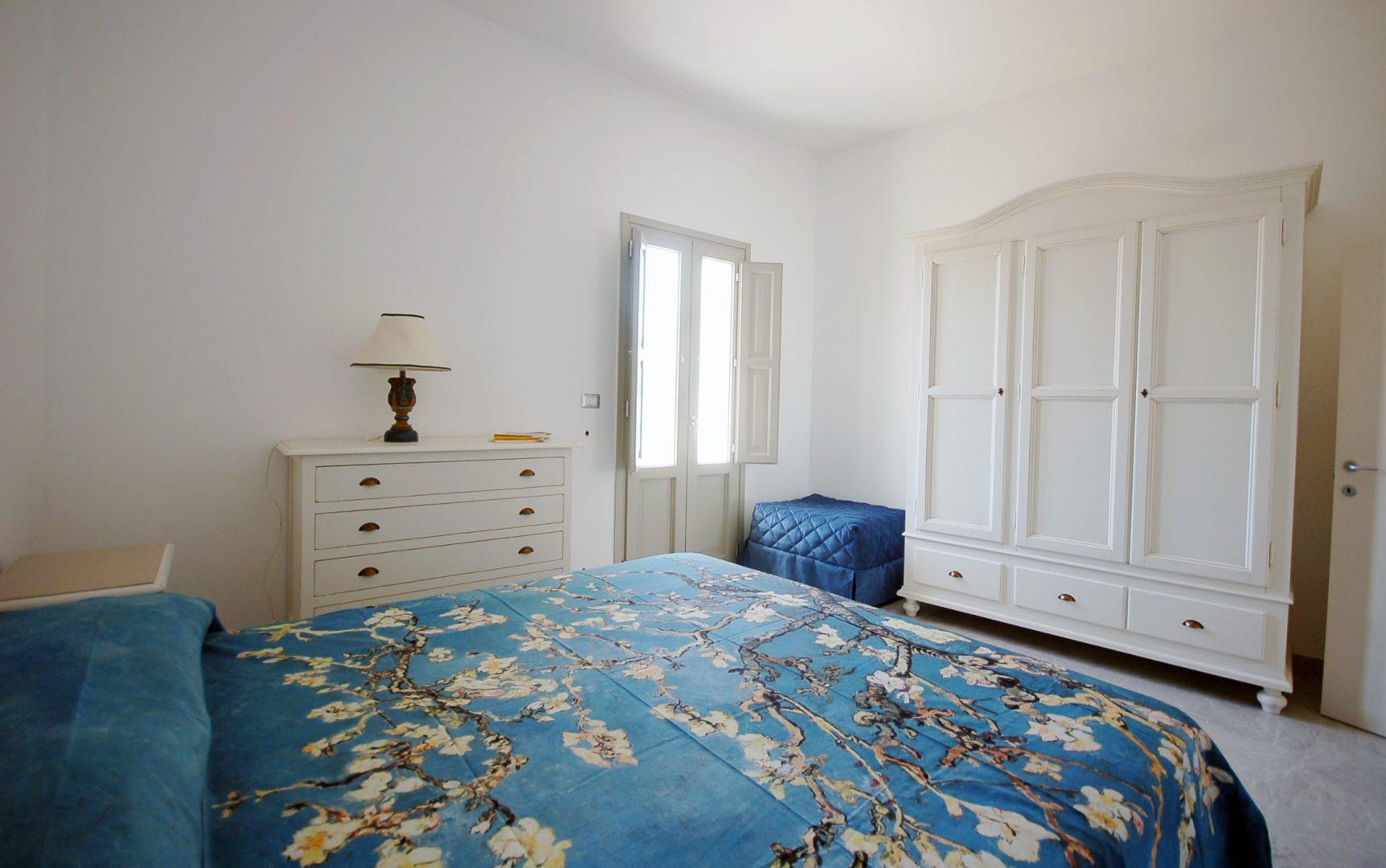 camera da letto appartamento vrani